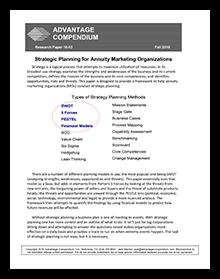 Strategic Planning for Annuity Marketing Organizations